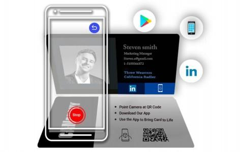 Augmented Reality Business Card