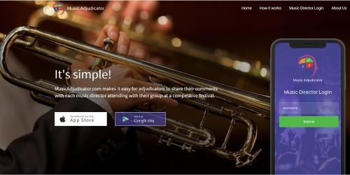 MusicAdjudicator-Screenshot