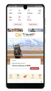 Dxtravel screens